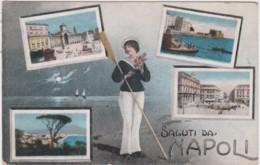 Bu - Cpa Italie - Saluti Da NAPOLI - Napoli