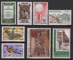 Andorre - N°338 à N°345 ** - Neufs Sans Charniere - Cote 30.00€ - Unused Stamps