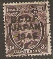 British Occupation Of Japan 1946  SG  53  3d  Overrint Fine Used - Japan (BCOF)
