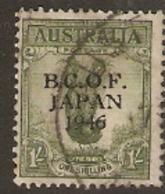 British Occupation Of Japan 1946  SG  55  1/-  Overrint Fine Used - Japan (BCOF)