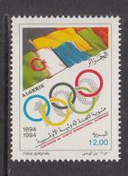 1994 Algeria Algerie Olympic Committee Complete Set Of 1 MNH - Algerien (1962-...)