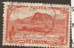 Reunion Island  1933   SG 144  50f  Fine Used - Reunion Island (1852-1975)