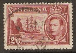 St Helena   1938  SG  138  2/6d  Fine Used - Saint Helena Island