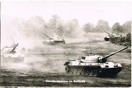 AK Bundeswehr, Standardpanzer Im Gelände Um 1960 - Matériel