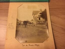 A Identifier 14 Isigny - Rue Du Paris Réal Photo 1900 - Cartes Postales