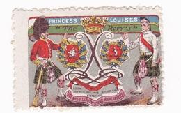 Vignette Militaire Delandre - Grande Bretagne - Princess Louises - Erinnofilia
