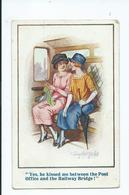 Postcard Donald Mc Gill . Yes He Kissed Me . Posted Honiton 1931  Inter-art Co.   3523 - Mc Gill, Donald
