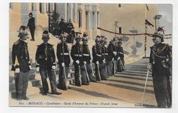 MONACO - N° 827 - CARABINIERS - GARDE D' HONNEUR DU PRINCE - GRANDE TENUE - CPA COULEUR NON VOYAGEE - Palacio Del Príncipe