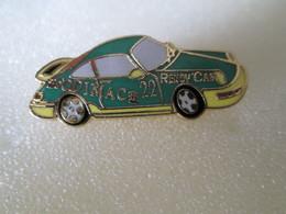 PIN'S   PORSCHE  911  CARRERA CUP  SODIMAC  RENOV CAR  Email Grand Feu - Porsche