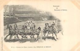 CIRQUE SOUVENIR DE BARNUM BAILEY COURSE DE CHARS ROMAINS CHEZ  BARNUM    IMP.  COURMONT - Cirque