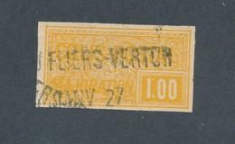 FRANCE - COLIS POSTAUX N°YT 27 OBLITERE - COTE YT : 14€ - 1918/20 - Oblitérés
