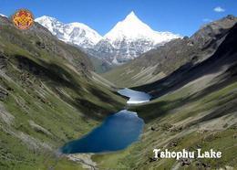 Bhutan Tshophu Lake New Postcard - Bután