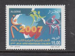 2007 Algeria Algerie  Africa Asiatic Games Complete Set Of 1 MNH - Algerien (1962-...)