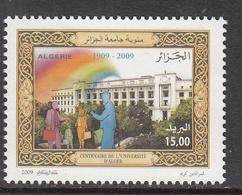 2009 Algeria Algerie  University Education Complete Set Of 1 MNH - Algerien (1962-...)