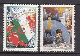 2009 Algeria Algerie  I Love My Country Complete Set Of 2 MNH - Algerien (1962-...)