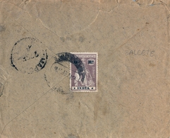 INDIA PORTUGUESA , SOBRE CIRCULADO , SALCETE - MAPUCA , LLEGADA - Portuguese India
