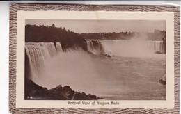 1930'S CPA CANADA- GENERAL VIEW OF NIAGARA FALLS. F.H.LESLIE LTD - BLEUP - Chutes Du Niagara