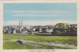 1950'S CPA CANADA- CHICOUTIMI, QUEBEC. C.N.R. PHOTO. PHOTOGELATINE ENGRAVING CO LTD - BLEUP - Chicoutimi