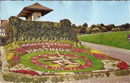 *CPM - ROYAUME-UNI - ANGLETERRE - HASTINGS - The Floral Clock, White Rock Gardens - Hastings