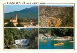 GANGES Et Ses Environs Vue Generale De Ganges 2scan Recto-verso) MC2470 - Ganges