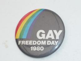 BADGE, GAY, FREEDOM DAY, 1980 - Associations