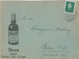 Temmler Werke Siran 1931 Johannisthal Produzieren Pervitin = Panzerschokolade, Göring-Pillen STuka-tabletten - Deutschland