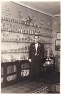1957 PHOTO ON CPA- WAITER MESERO PLATERIA - BLEUP - Photographie