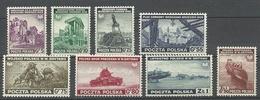 POLEN Poland 1943 Michel 368 - 375 MNH Polnische Exil-Regierung In London - Londoner Regierung (Exil)