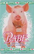 Télécarte Japon / 110-011 - CINEMA - BABE * COCHON * - A LITTLE PIG GOES A LONG WAY - Japan Movie Phonecard - 11416 - Cinéma