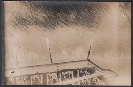 CPA -  Belgique, OSTENDE / OOSTENDE, Aerial View Of Breakwater, Carte Photo - Oostende