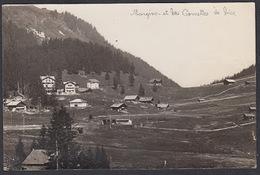 CPA  Suisse, MORGINS Et Les Cornettes De Bise, Carte Photo.1925 - VS Valais