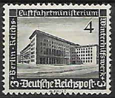 GERMANIA REICH TERZO REICH 1936 SOCCORSO INVERNALE UNIF. 583 MLH VF - Nuevos