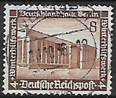 GERMANIA REICH TERZO REICH 1936 SOCCORSO INVERNALE UNIF. 586  USATO VF - Usados