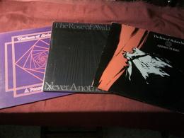 THE ROSE OF AVALANCHE   °°  COLLECTION DE 2 / 33 TOURS + 2 MAXIX 45 TOURS - Vollständige Sammlungen