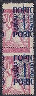 Yugoslavia State SHS Slovenia 1920 Porto, Error - Moved Perforation, MNH (**) Michel 48 - Ongetande, Proeven & Plaatfouten