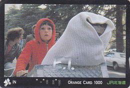 Carte Orange Japon - CINEMA FILM - ET - E.T.- THE EXTRA TERRESTRIAL - MOVIE Japan JR Card - KINO Karte - E 11435 - Cinéma