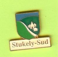 Pin's Ville Du Québec Stukely-Sud - 7FF07 - Villes