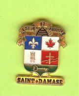 Pin's Ville Du Québec Saint-Damase - 7FF13 - Städte