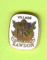 Pin's Ville Du Québec Rawdon - 7FF16 - Villes