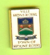 Pin's Ville Du Québec Mont-Royal - 7FF25 - Villes