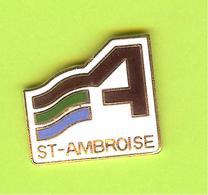 Pin's Ville Du Québec St-Ambroise - 8FF13 - Villes