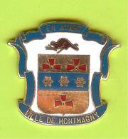 Pin's Ville Du Québec Montmagny - 8FF14 - Villes