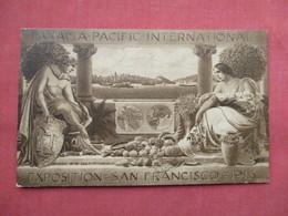 Panama Pacific  International  Expo 1915   Has Stamp & Cancel  Ref  3467 - Ausstellungen