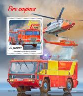 Sierra Leone 2019   Fire Engines     S201904 - Sierra Leone (1961-...)
