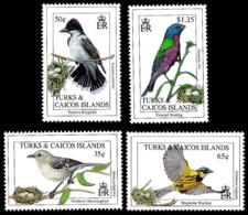 7660  Songbirds - Oiseaux - Turks & Caicos Yv - MNH - 2,85 - Non Classés