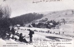 74 - Haute Savoie - Village De LA CROISETTE - Paysage D Hiver Au Saleve - RARE - Autres Communes
