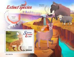 Sierra Leone 2019    Fauna Extinct Species   ,elephant    S201904 - Sierra Leone (1961-...)