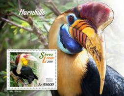 Sierra Leone 2019    Fauna  Hornbills    Birds  S201904 - Sierra Leone (1961-...)