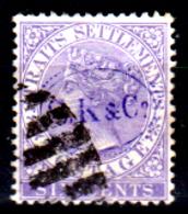 Straits Settlements-0043 - 1882-99:- Senza Difetti Occulti - - Straits Settlements