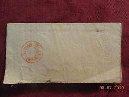 Lettre De 1869 De Cette ( Avertissement De La D G De L'enregistrement Des Domaines Et Du Timbre) - Marcophilie (Lettres)
